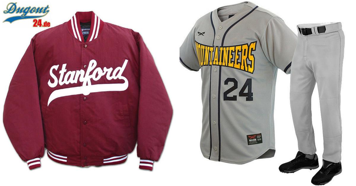 Neue Baseball Jacken & Jerseys von Maxim