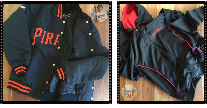 Custom individualisierte Baseball Jacken und Hoodies