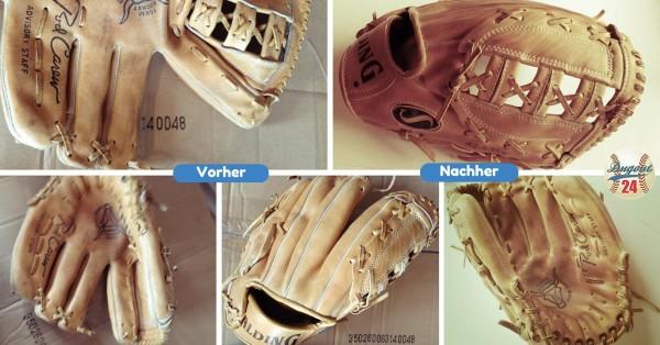 Baseball Handschuh Riemen ersetzen