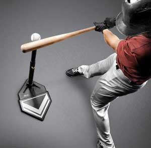 Batting Tee Abstand