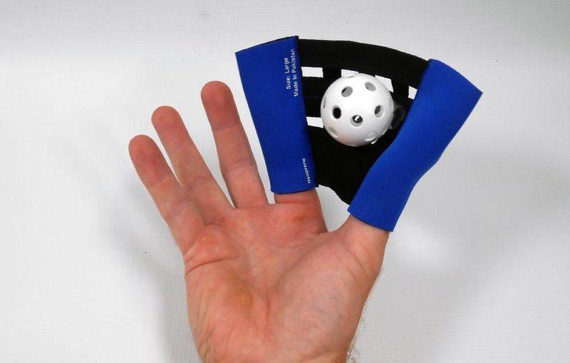 Der kleinste Baseballhandschuh der Welt